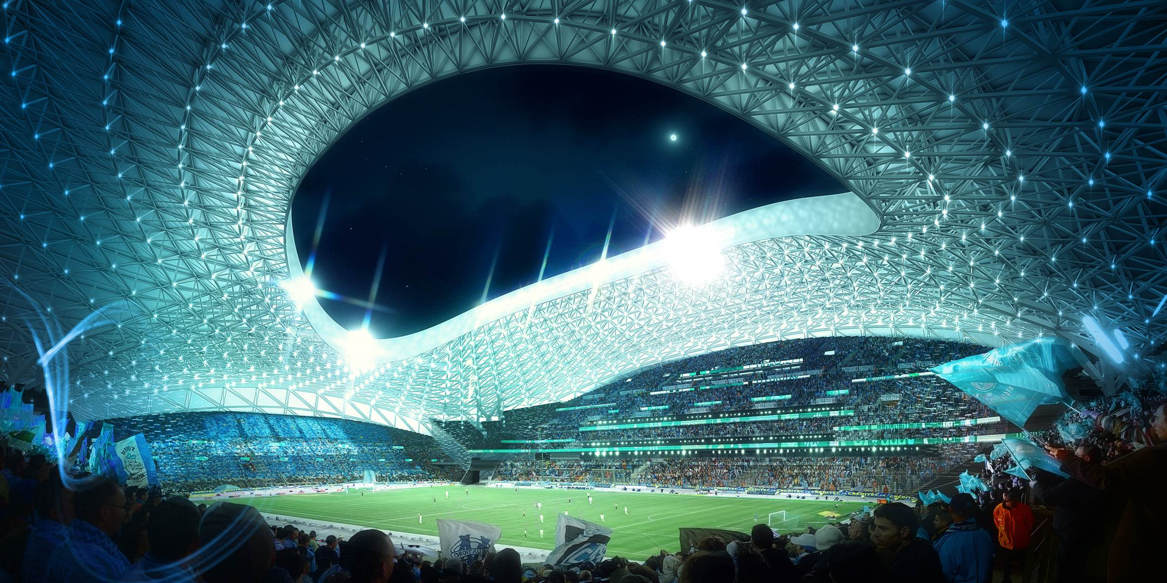Marseille Vélodrome Football Stadium - Bouygues Construction Australia