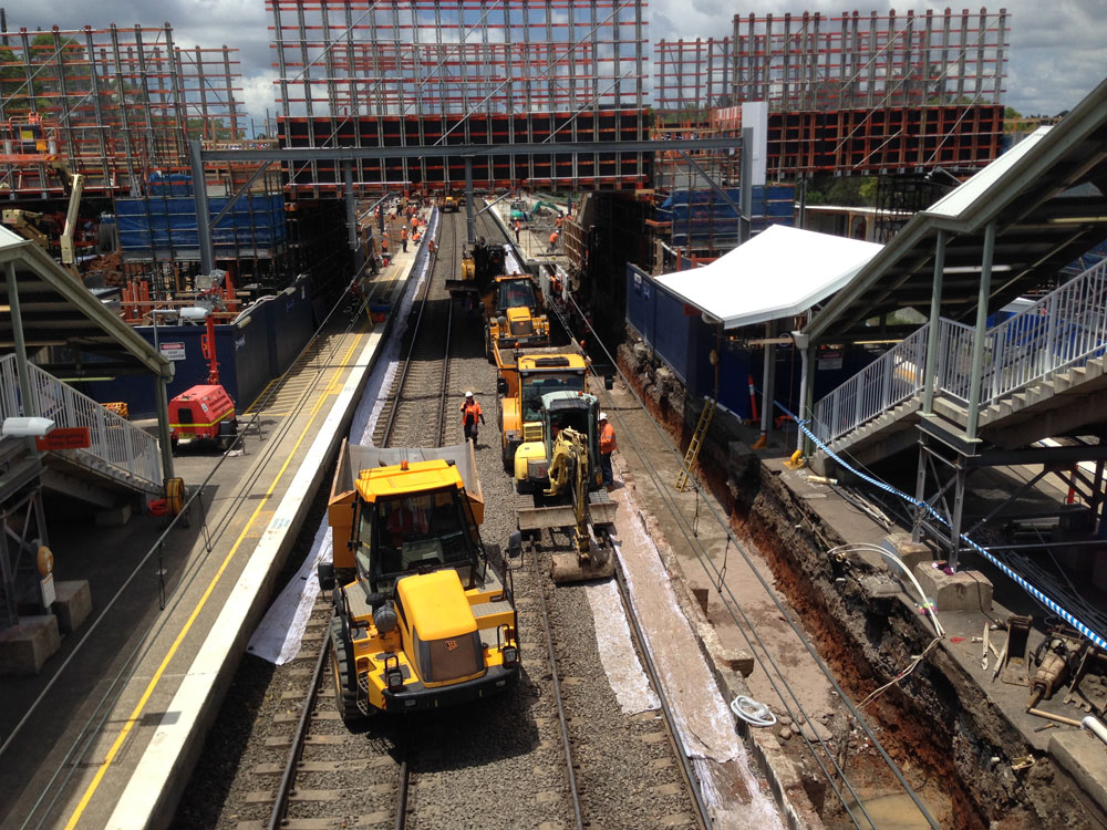 North Strathfield Rail Underpass Bouygues Construction